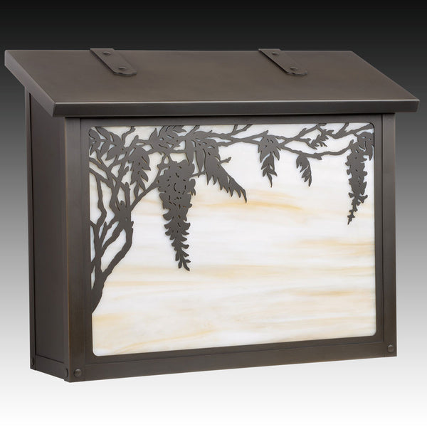 Wisteria Wall Mounted Mailbox - Large
