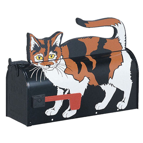 Novelty Mailbox Calico Cat