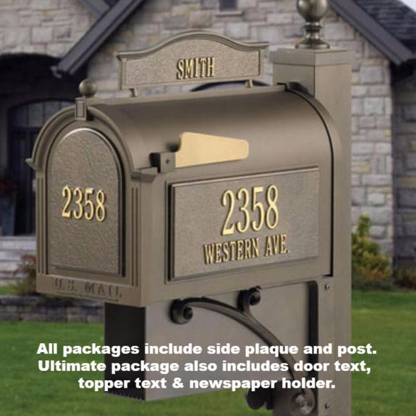 Capital Mailbox Ultimate Pkg