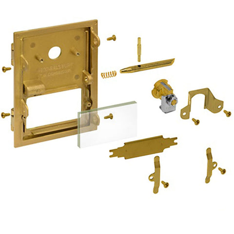Hardware for Standard Brass Mailboxes