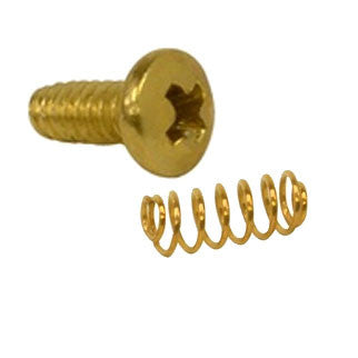 Hardware - Screws and Springs - for Brass or Americana Mailboxes