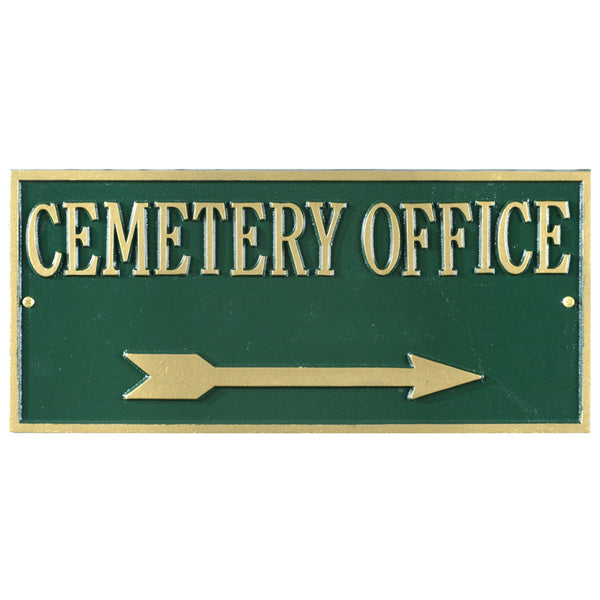 Cemetery Signage Hartford Rectangle
