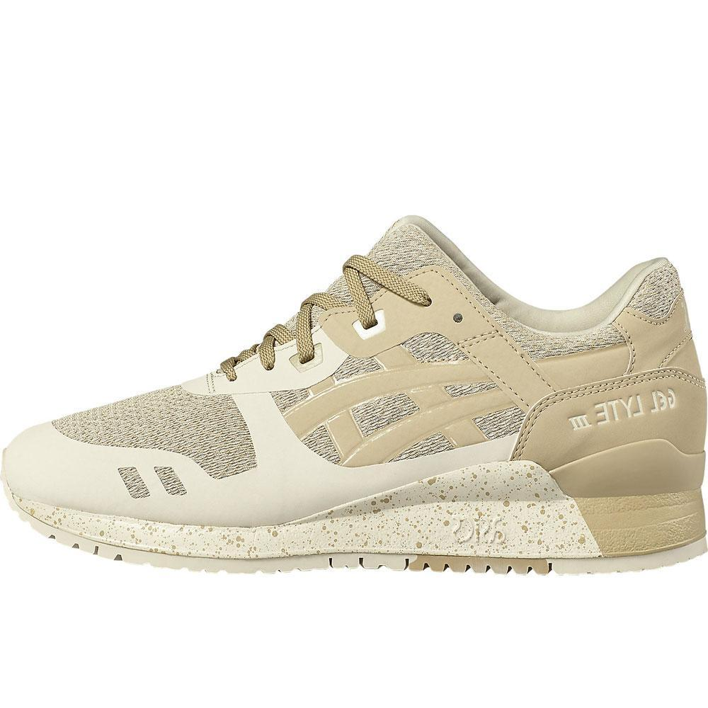 Asics Gel-Lyte III NS Trainers - Birch Latte Beige H715N 0205 - so-ldn