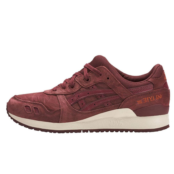 Asics Gell Lyte III Trainers - Russet Brown  HL7V3-2626 - so-ldn