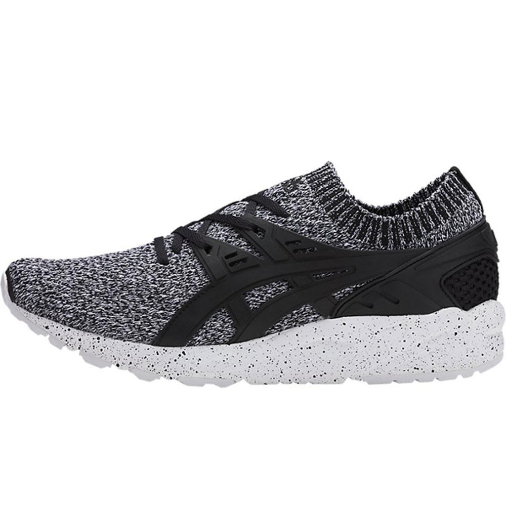 Asics Gel-Kayano Knit Oreo Trainers - White/Black HN7Q2-0190 - so-ldn