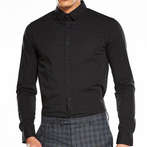 Calvin Klein Jeans Wilbert Long Sleeve Shirt - Black - so-ldn