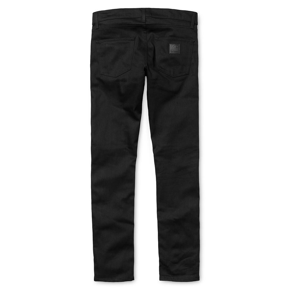 Carhartt WIP Rebel Pant Slim Fit Jeans - Black Rigid Towner Denim - so-ldn