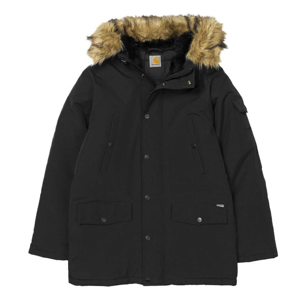 Carhartt Anchorage Parka Jacket - Black - so-ldn