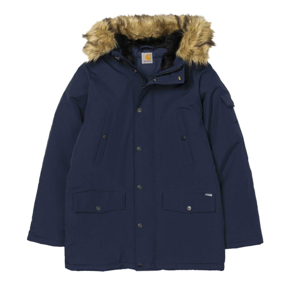 Carhartt Anchorage Parka Jacket - Navy - so-ldn