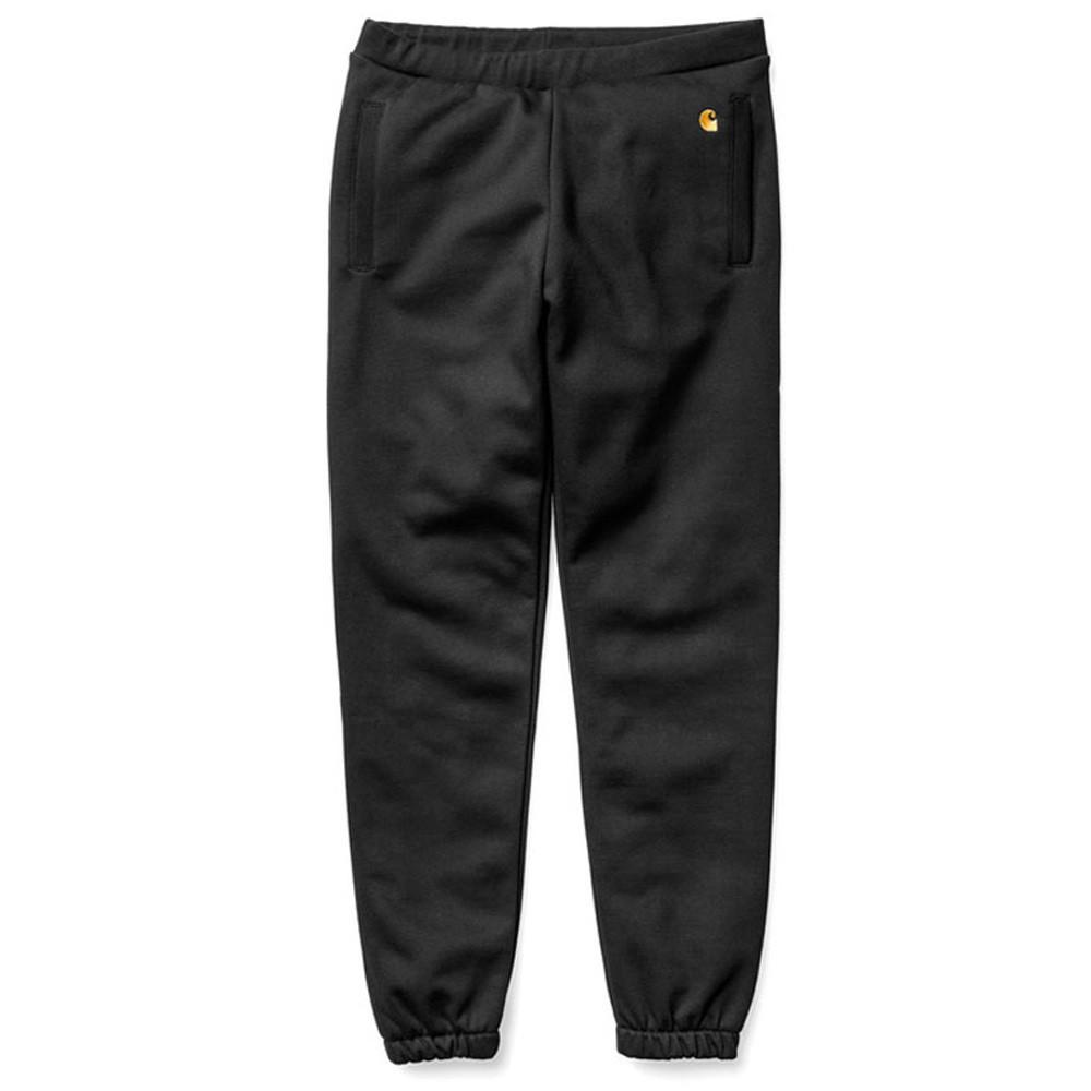 Carhartt WIP Chase Sweat Pants - Black - so-ldn