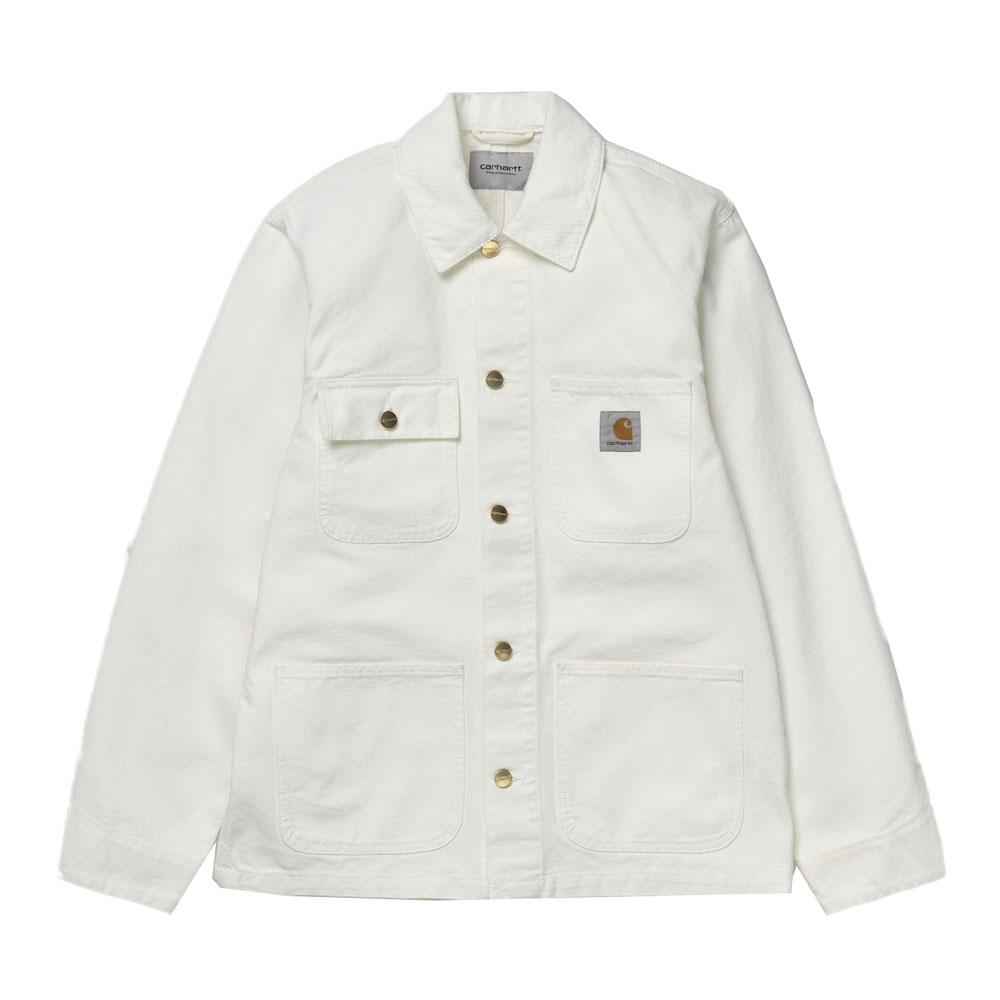 Carhartt WIP Michigan Coat - Wax White - so-ldn