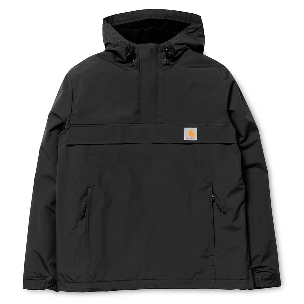 Carhartt WIP Nimbus  Pullover Jacket - Nylon Black - so-ldn