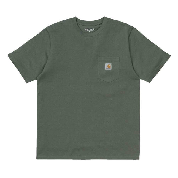 Carhartt S/S Pocket T-Shirt - Adventure Green - so-ldn
