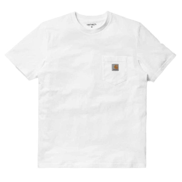 Carhartt S/S Pocket T-Shirt - White - so-ldn