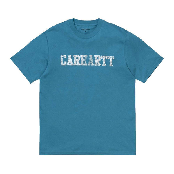 Carhartt WIP S/S Speedlines T-Shirt - Pizol / White - so-ldn