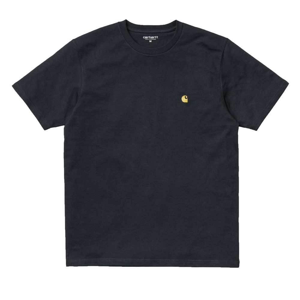 Carhartt Chase T-Shirt - Dark Navy / Gold - so-ldn