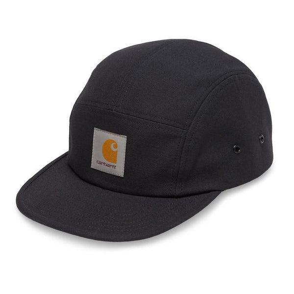 Carhartt Backley 5 panel Cap - Dark Navy - so-ldn