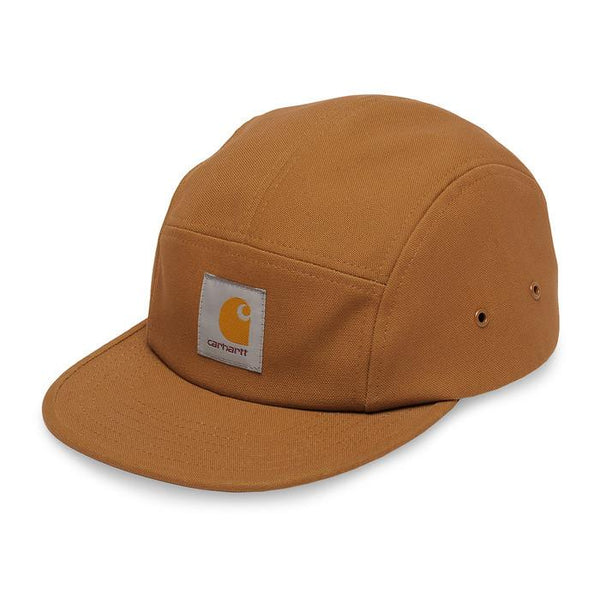 Carhartt WIP Backley 5 panel Snapback Cap - Hamilton Brown - so-ldn