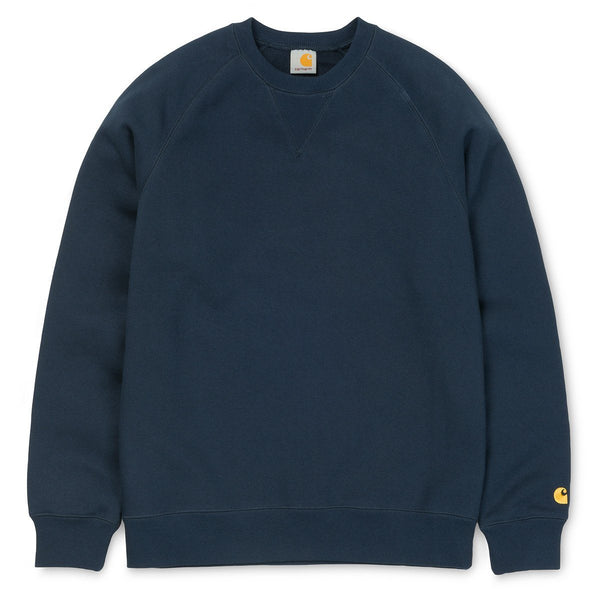 Carhartt WIP Chase Sweatshirt - Navy - so-ldn
