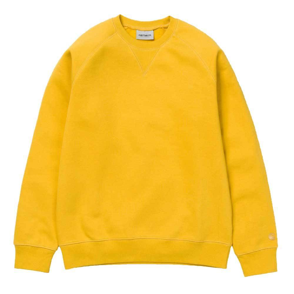 Carhartt WIP Chase Sweat Shirt - Quince / Yellow - so-ldn