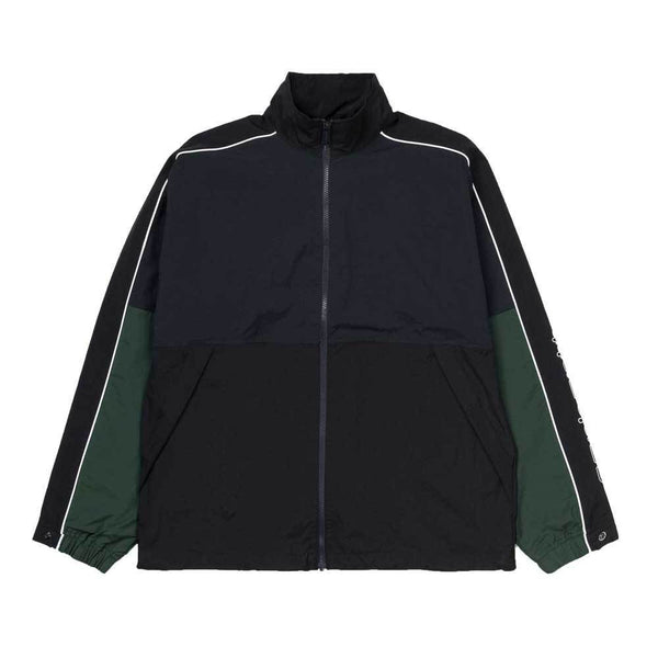 Carhartt WIP Mens Terrace Jacket - Dark Navy / Black / Bottle green - so-ldn