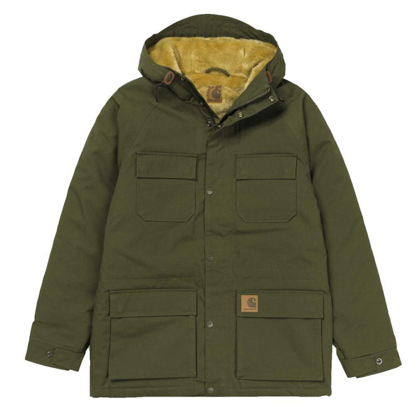 Carhartt WIP Mentley Jacket - Cypress Green - so-ldn