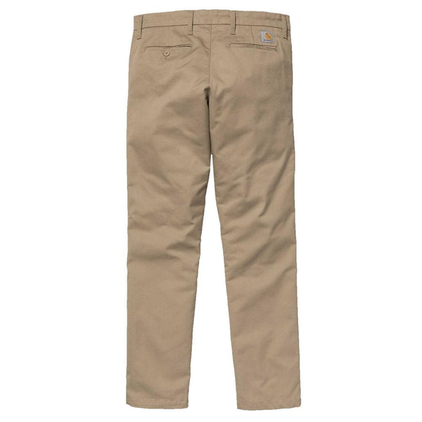 Carhartt WIP Sid Pant Chinos - Leather Tan - so-ldn