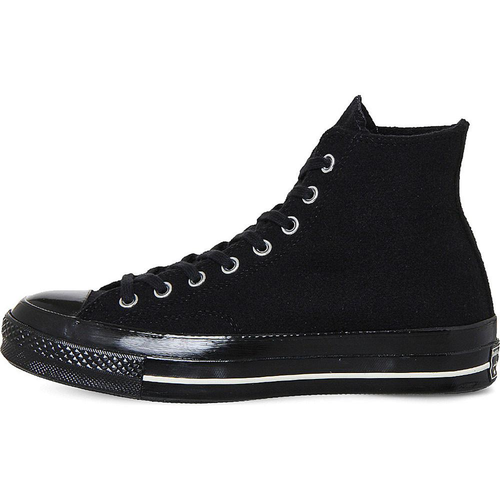 Converse Chuck Taylor All Star Hi-Top 1970's - Black Egret Wool - so-ldn