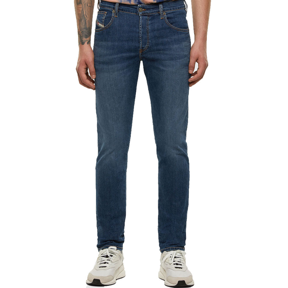 DIESEL D-Yennox 009DG Stretch Blue Tapered Jeans