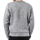 Diesel S-Real Crewneck Alpaca Wool Sweatshirt - Grey - so-ldn