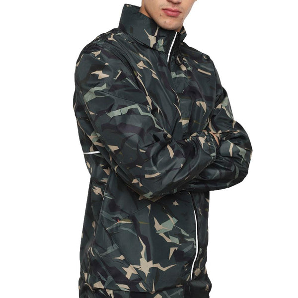 Diesel BMOWT-WINDSEA-P Hooded Shell Jacket  Camouflage - so-ldn