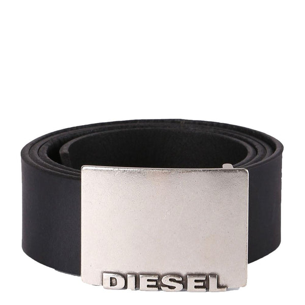 Diesel B-Blade Buckle leather Belt - Black - so-ldn