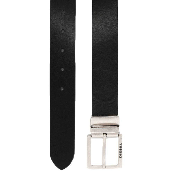 Diesel  Sness leather belt - Black