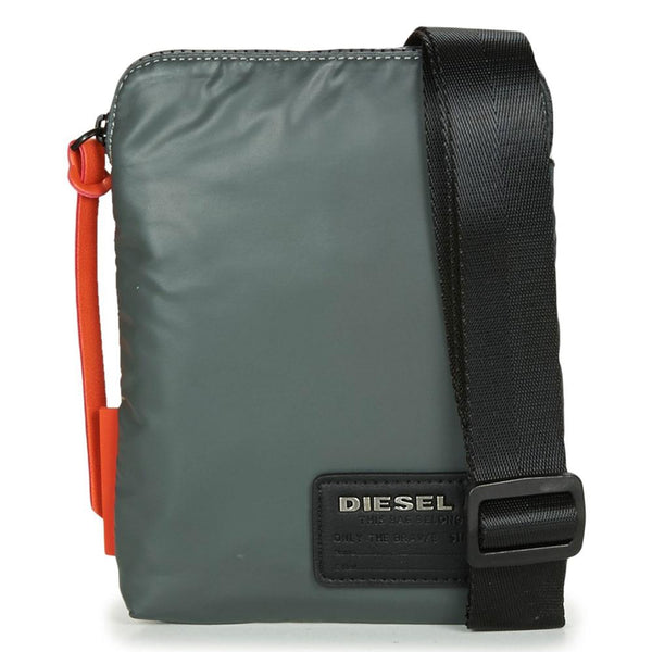 Diesel F-Discover Small Cross Body Bag - Grey - so-ldn