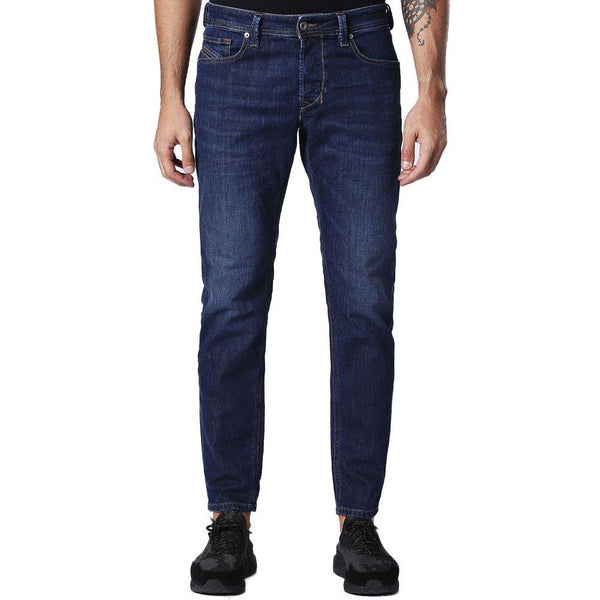 Diesel Larkee-Beex 084NR Blue Tapered Jeans - so-ldn