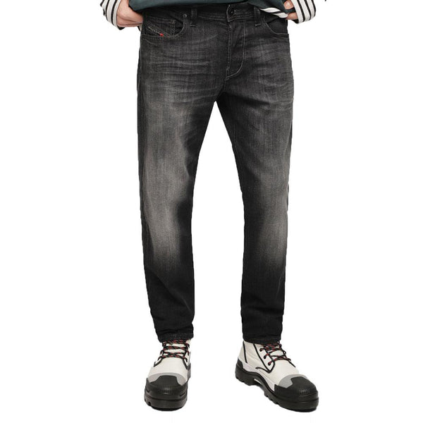 Diesel Larkee-Beex 087AM Tapered Jeans - Grey - so-ldn