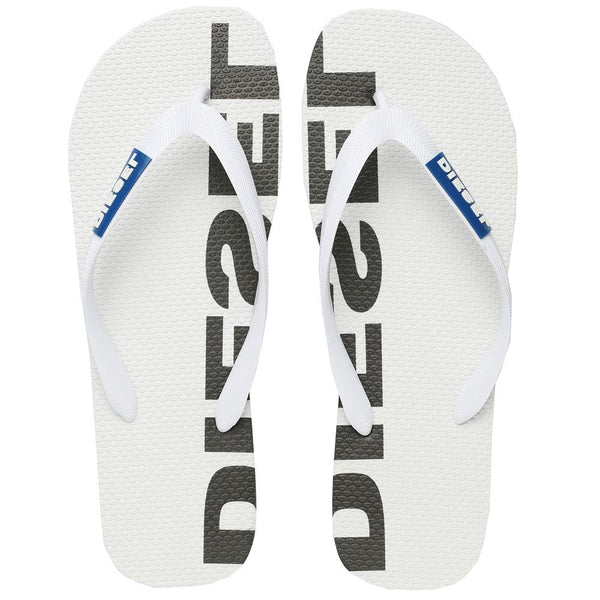 Diesel SA Briian Flip Flops Sandals  - White - so-ldn