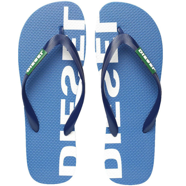Diesel SA Briian Flip Flops Sandals  -  Blue - so-ldn