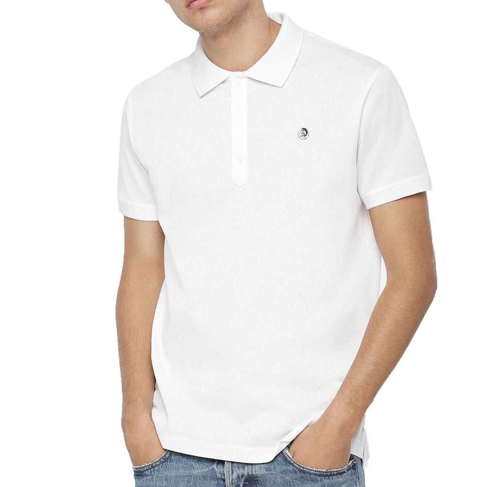 Diesel T-weet Polo Shirt - White - so-ldn