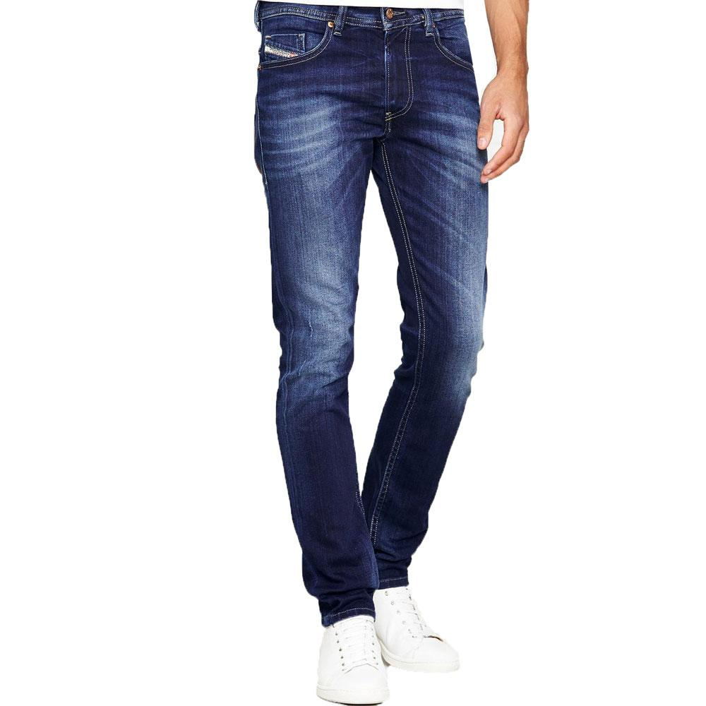 Diesel Thommer 0860L Slim Skinny Jeans - Dark Blue - so-ldn