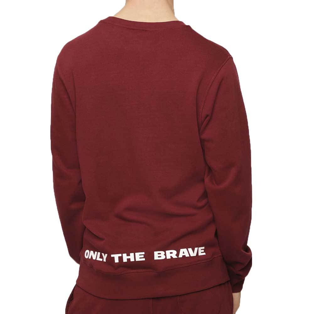 Diesel UMLT Willy Sweatshirt - Burgundy - so-ldn