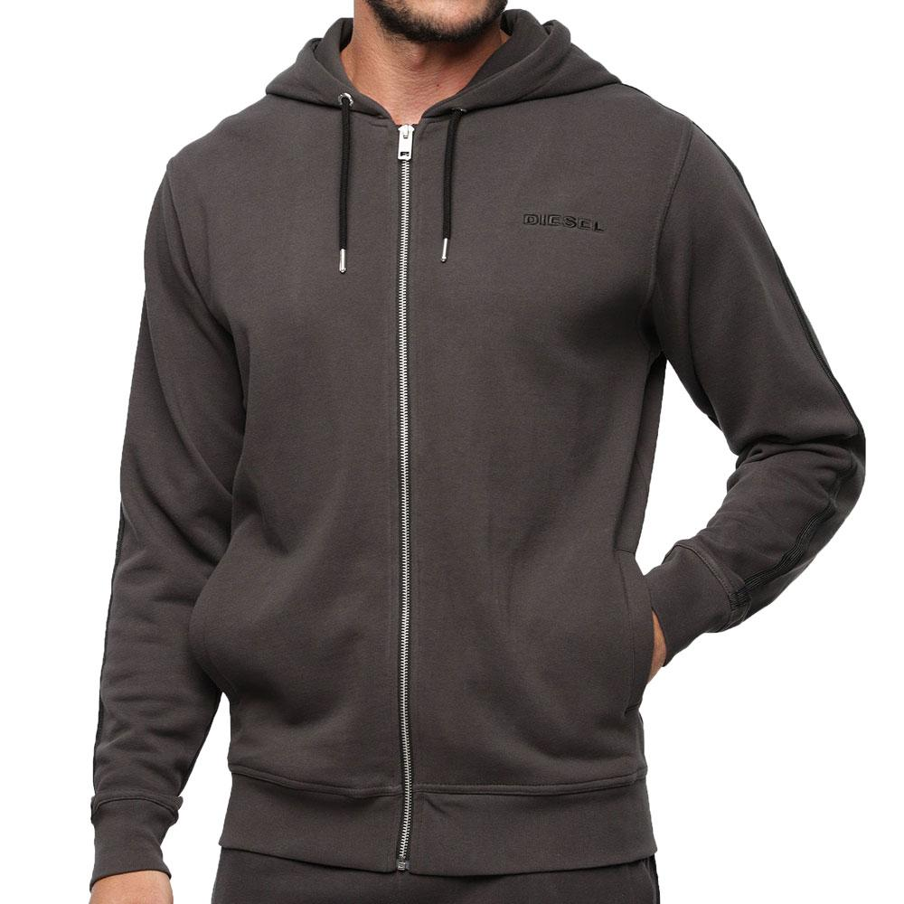 Diesel UMLT-Brandon - Z Hooded Sweatshirt - Dark Grey - so-ldn