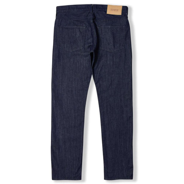 Edwin ED-55 Regular Tapered Jeans - Kingston Blue Denim - Rinse - so-ldn