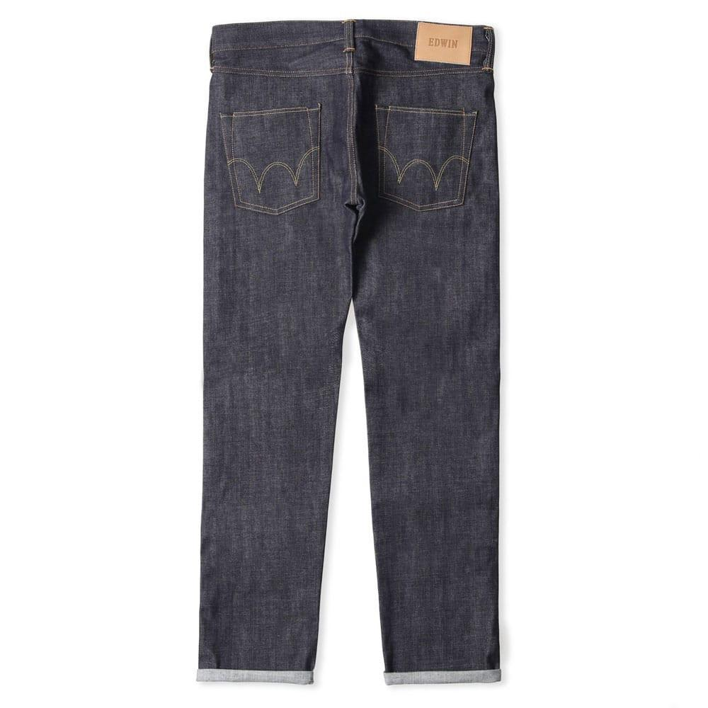 Edwin ED-55 Jeans Red Listed Selvage 14 oz Unwashed - so-ldn