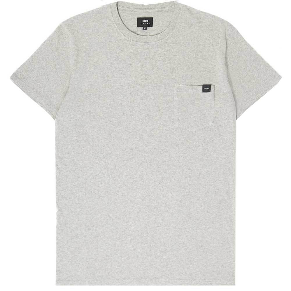 Edwin Pocket T Shirt - Grey - so-ldn