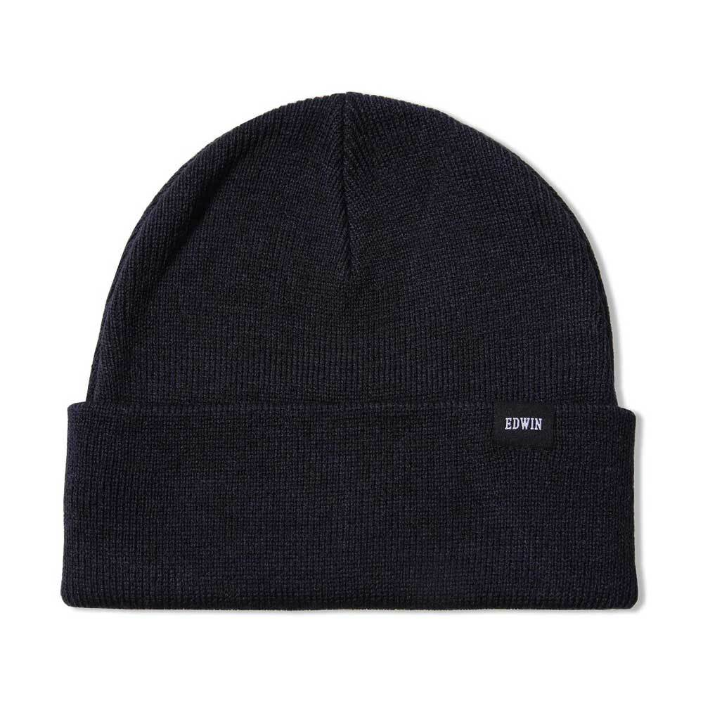 Edwin Watch Cap Beanie - Black - so-ldn