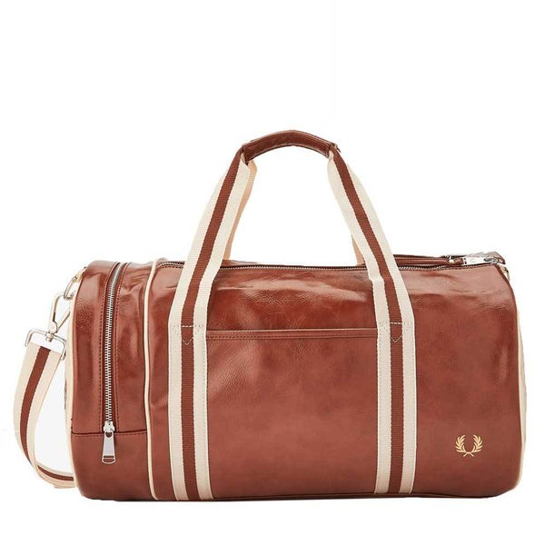 Fred Perry Classic Barrel Bag - Tan L7220