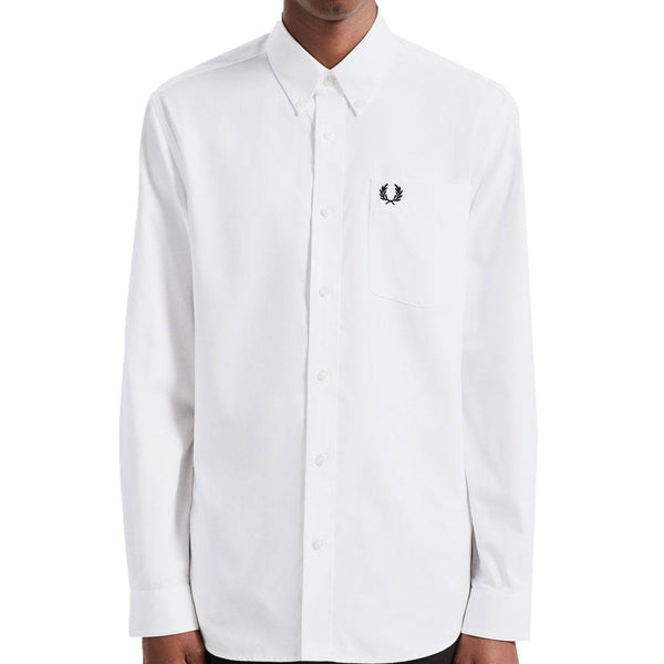 Fred Perry Oxford Shirt M7550 - White