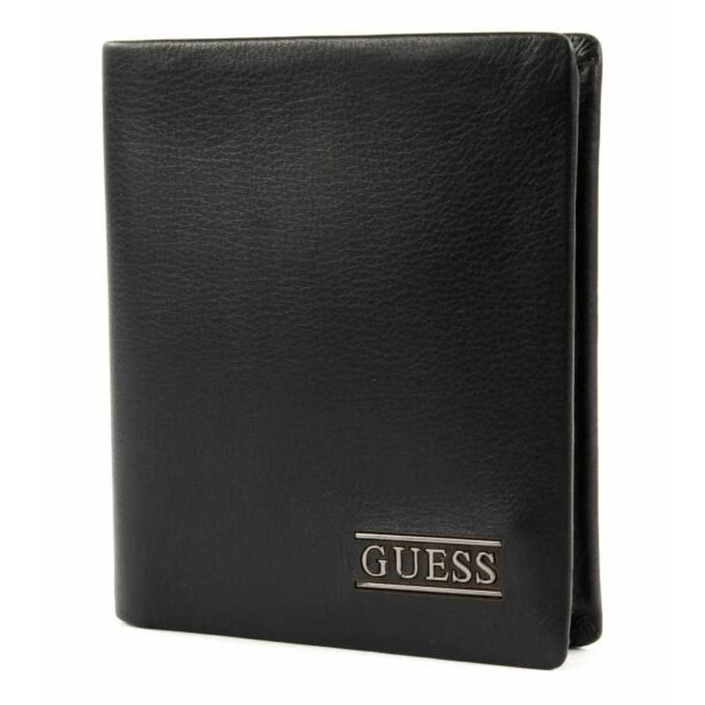 GUESS New Boston Small Billfold Coin Wallet - Black SM2513LEA22