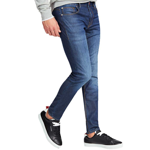 Guess Chris Skinny Featherweight Jeans - Mid Blue M02A27D3ZM1